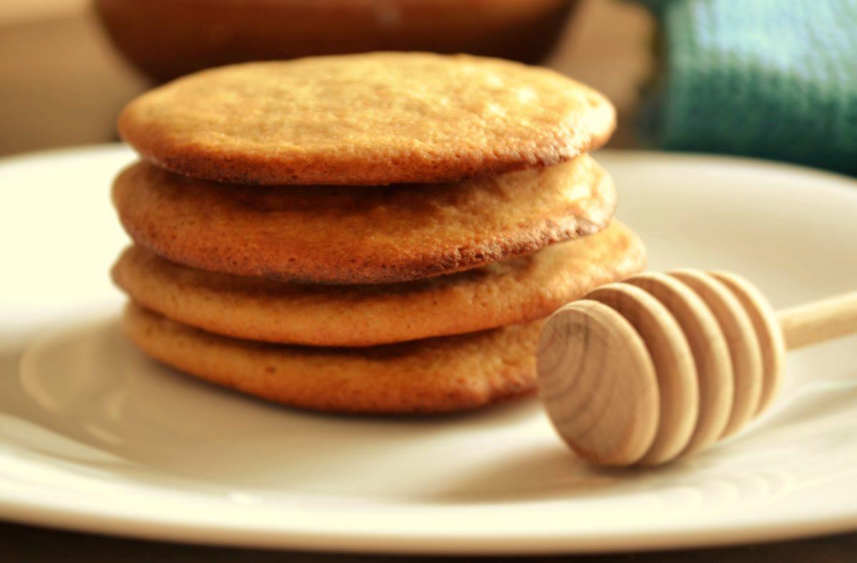 Biscoito Integral de Mel sem Glúten e sem Lactose
