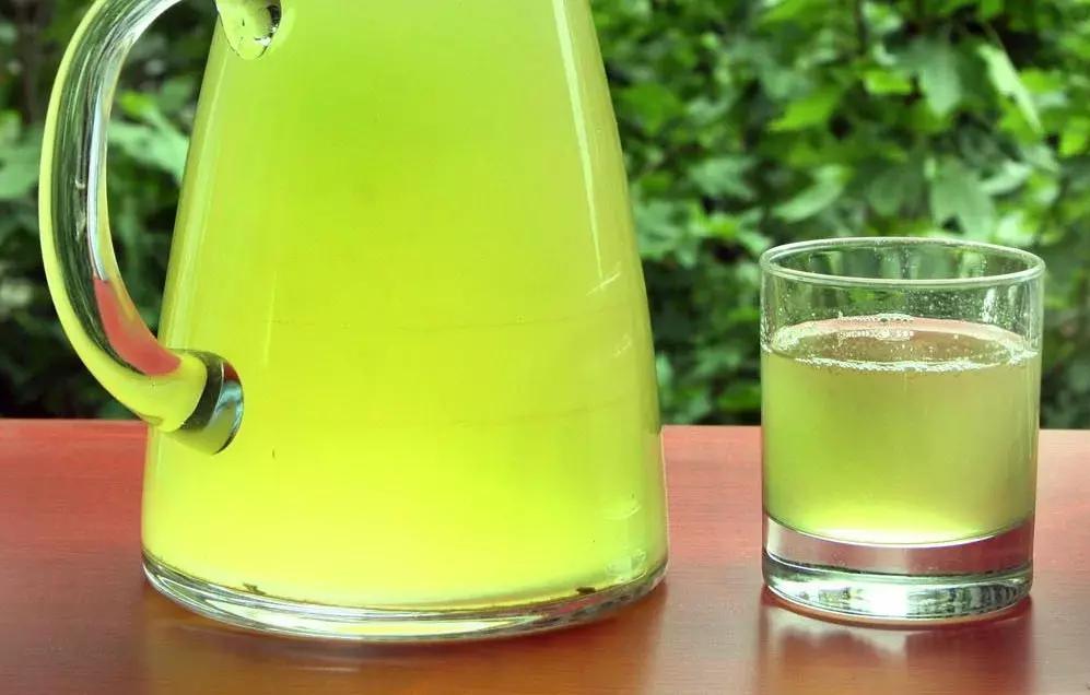 Limonada com Capim Santo