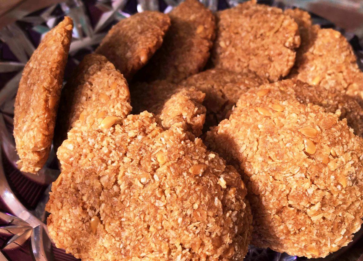 Biscoito de Coco com Gengibre