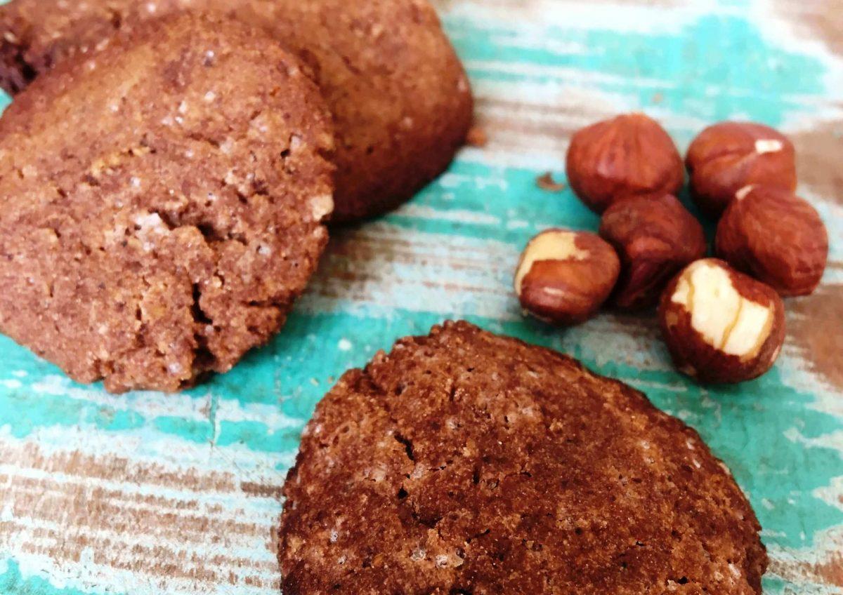Cookie de Avelã com Cacau