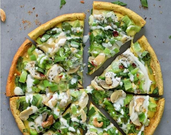 Pizza de Batata Doce Funcional