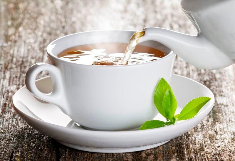 Chá de Gengibre Compactada