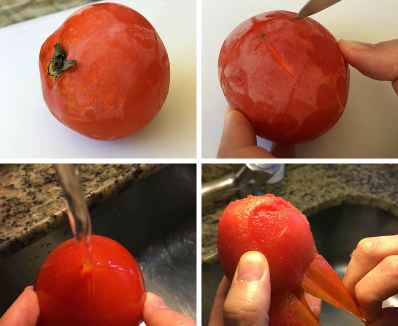 Como Congelar e Descascar Tomates