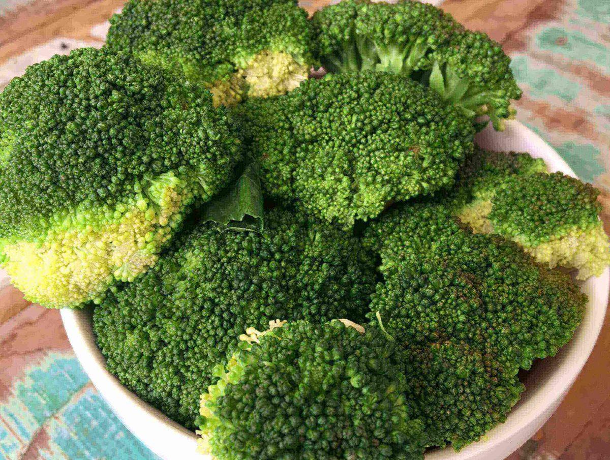 Brócolis Pronto em 4 Minutos