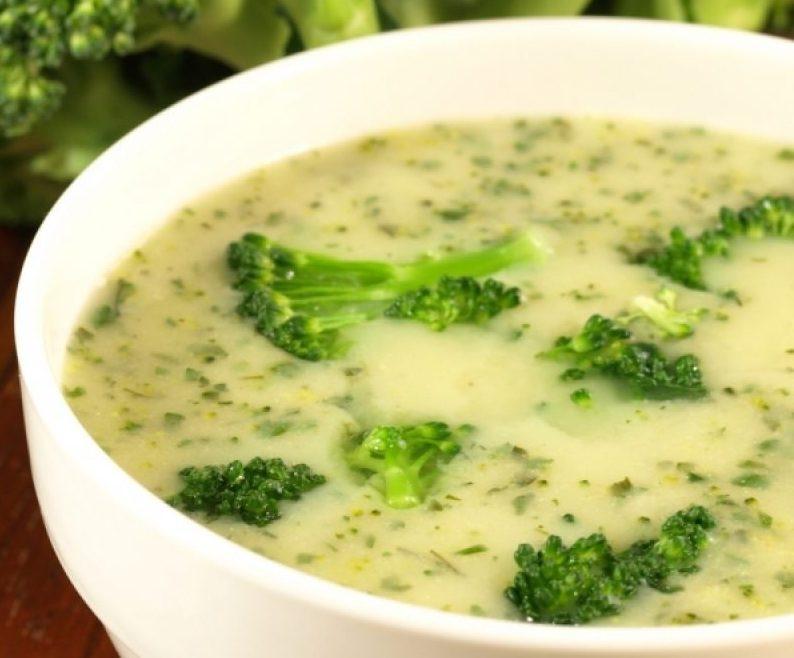 Sopa Creme de Brócolis Low Carb