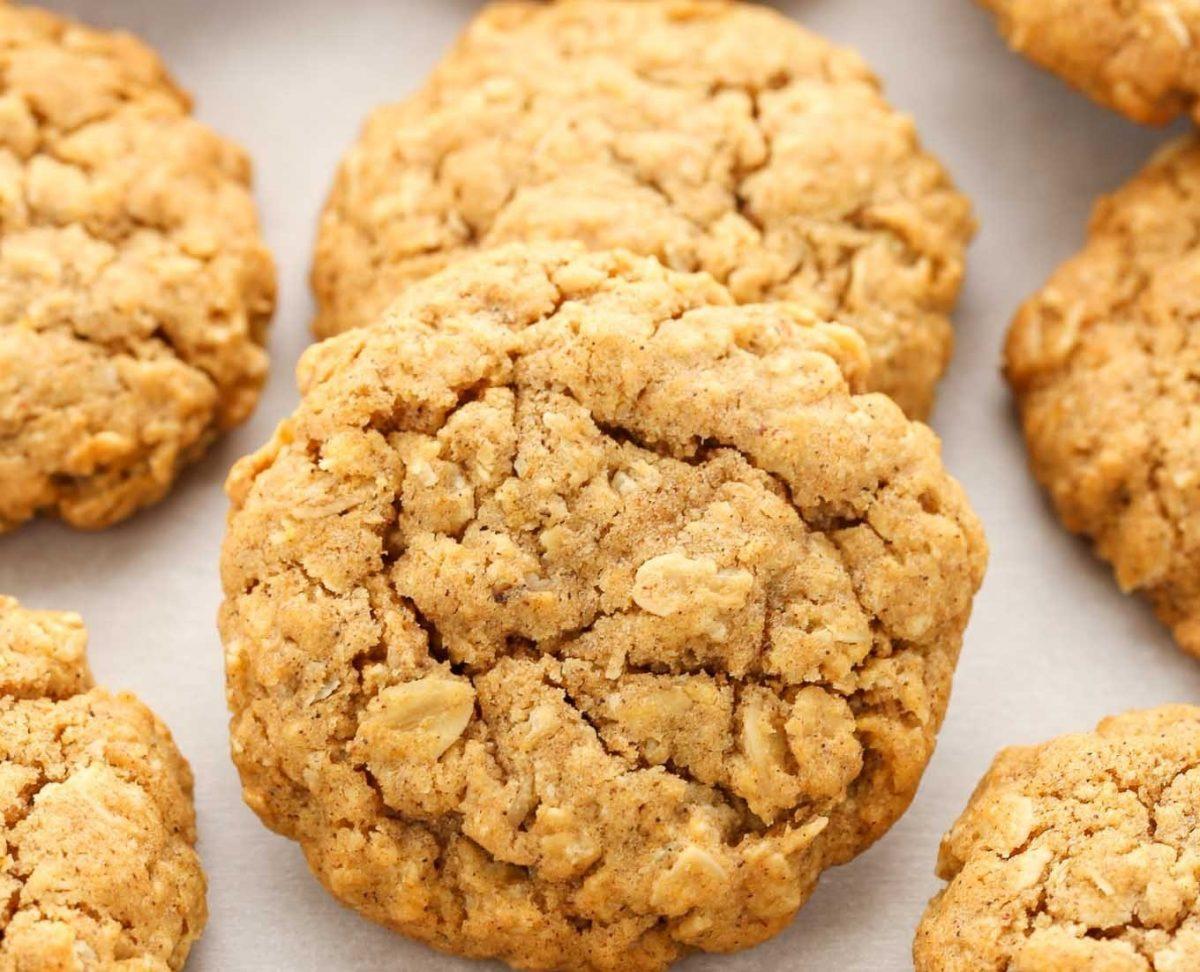 Cookies de Aveia Fácil