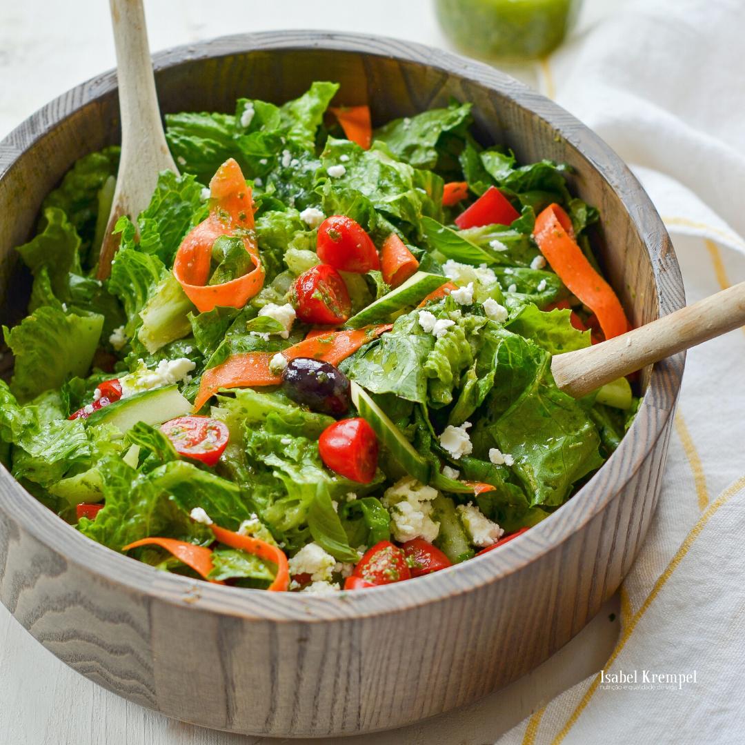 Sem medo de Temperar e Caprichar nas Saladas